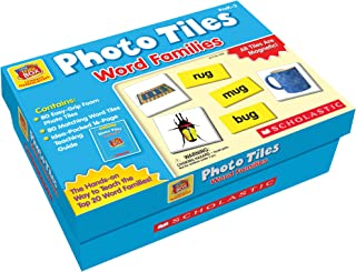 Little Red Tool Box Photo Tiles Word Families, SC991425