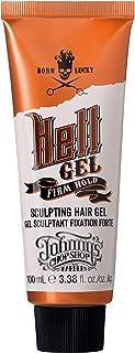 Johnny's Chop Shop Born Lucky Hell Gel Men's Hair Grooming & Styling Firm Hold, Medium Shine & Polish, Anti Frizz, Aloe Ve...