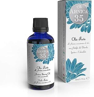Dulàc - Aceite fuerte para masajes a base de Árnica concentrada al 35% - 50 ml - Ideal para masajes - 100% natural - 100% Made in Italy - Arnica 35