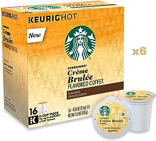 Starbucks Crème Brulée Flavored Blonde Light Roast K-Cups (96 Count)