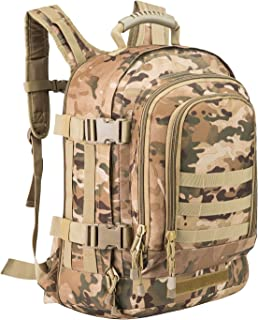 PANS Military Outdoor Backpack,Tactical Expandable 3-Day Travel Bag,Large, forTravel,Work,Trekking and Hiking