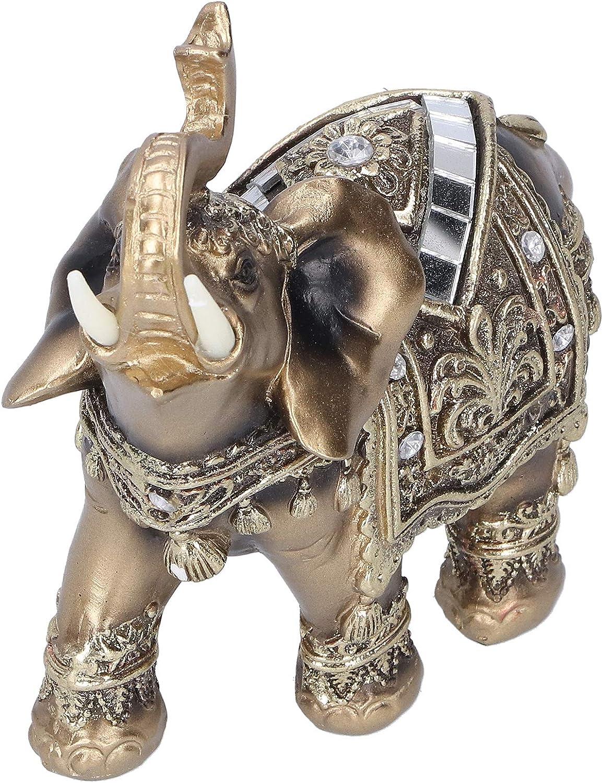 Super beauty product restock quality Max 75% OFF top Evonecy Elephant Statue Resin Figuri Non‑Toxic Decor