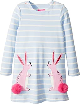 Applique Knit Dress (Toddler/Little Kids)