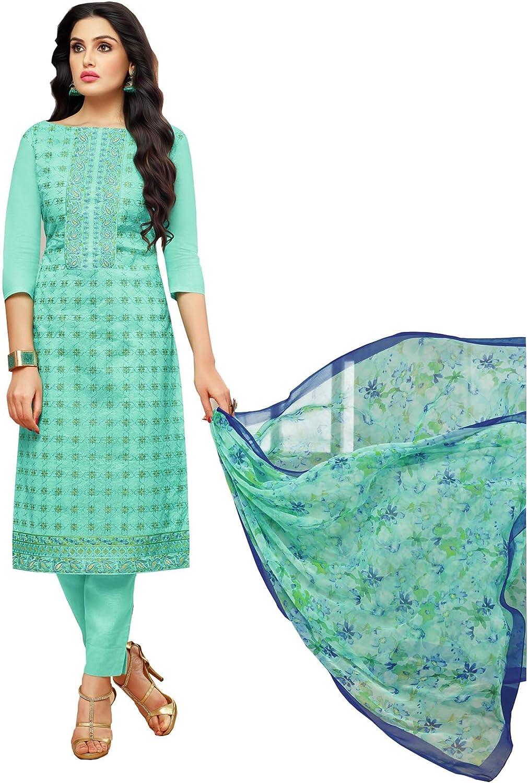 Rajnandini Women's Modal Embroidered Dress Material(JOPLMF2223_Mint Green_Free Size)