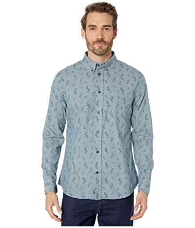 United By Blue Long Sleeve Outpost Button Down (Orion Blue/Clipped In) Men