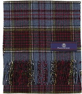 Prince of Scots Merino Wool Tartan Scarf