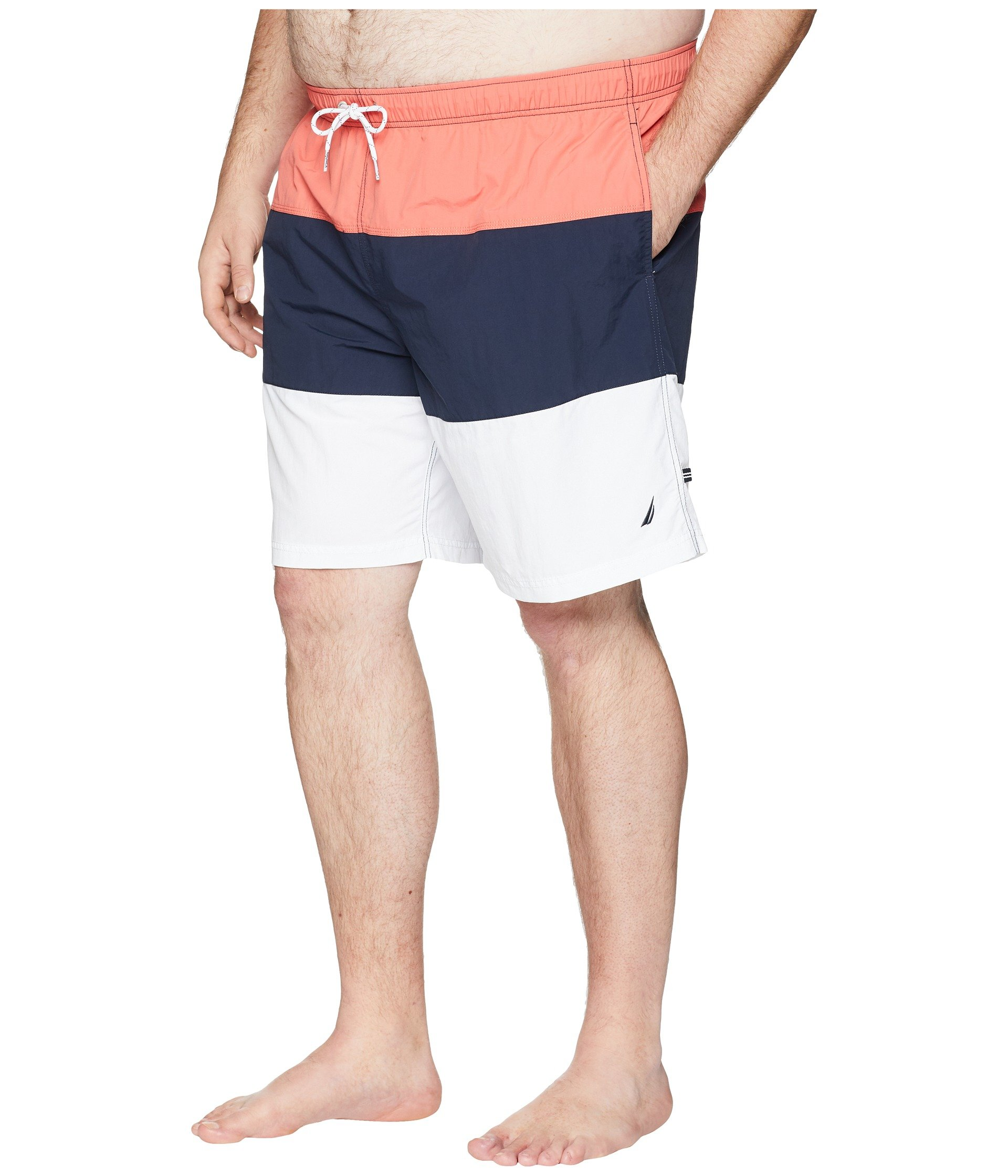 Nautica amp; Block Big Trunk Spiced Tall Coral Tricolor rZwwzRf18q