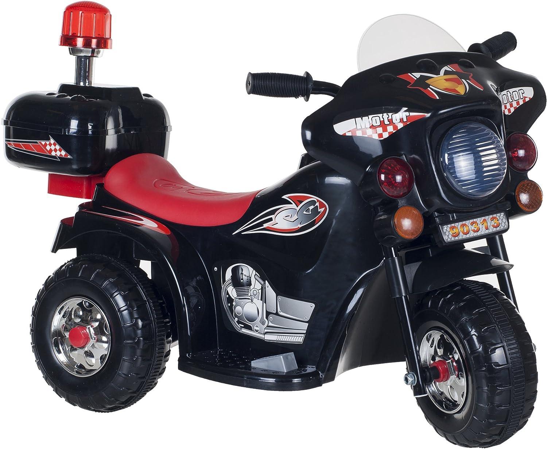 Lil' Rider Super Sport Three Wheeled Motorcycle Ride-On - schwarz by Lil' Rider