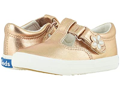 Keds Kids Daphne (Toddler/Little Kid) (Blush Metallic) Girl