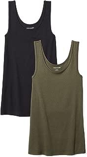 Women's 2-Pack Slim-Fit Tank