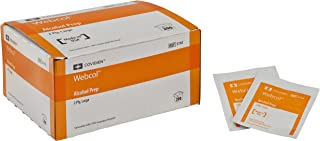 Covidien 5110 Webcol Alcohol Prep, Sterile, Large, 2-ply (Pack of 200)