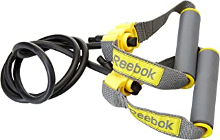 Reebok RSTB-16070 Tubos de Resistencia Nivel 1 Unisex Talla /Única Negro