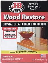 J-B Weld 40002 32 oz Wood Restore Premium Liquid Epoxy Kit