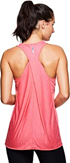 Active Women's Fashion Back Detail Flowy Yoga Tank Top