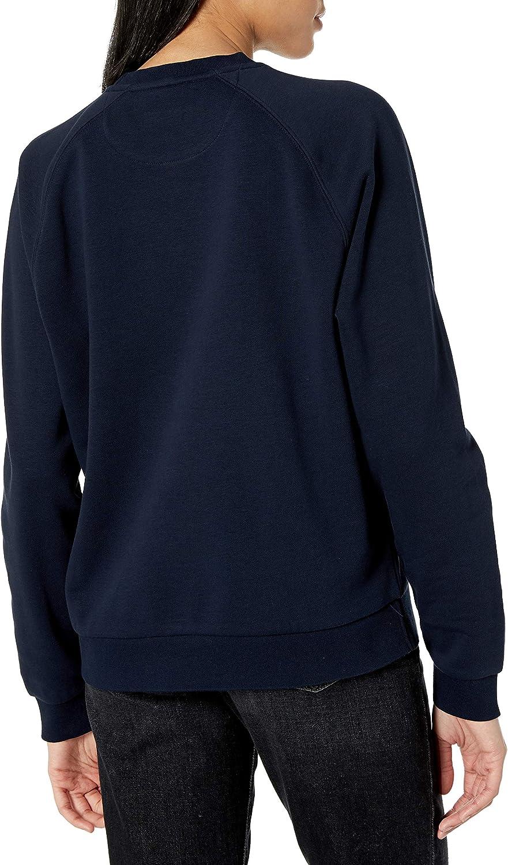 Lacoste Womens Womens Big Croc Graphic Crewneck Sweatshirt