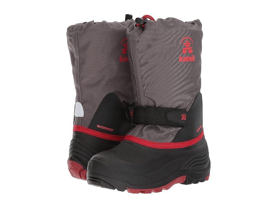 Kamik Kids WaterbugW (Toddler/Little Kid/Big Kid) (Charcoal 1) Boys Shoes