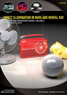 Direct Illumination in Maya & mental ray Lighting and Rendering Series Vol. 2 with Frederic Durand Interactive