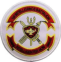 USMC 1st Intelligence Battalion Patch Full Color