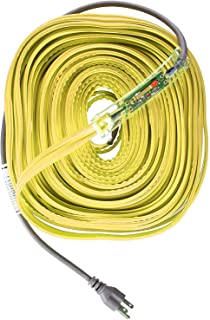 WRAP-ON Pipe Heating Cable - 100-Feet, 120 Volt, Built-in Thermostat, Low Wattage - 31100
