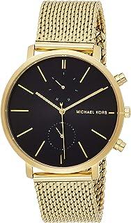 Michael Kors Mens Quartz Watch, Analog Display and Stainless Steel Strap MK8503