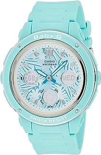 Casio Womens Quartz Watch, Analog Display and Carbon Fibre Strap