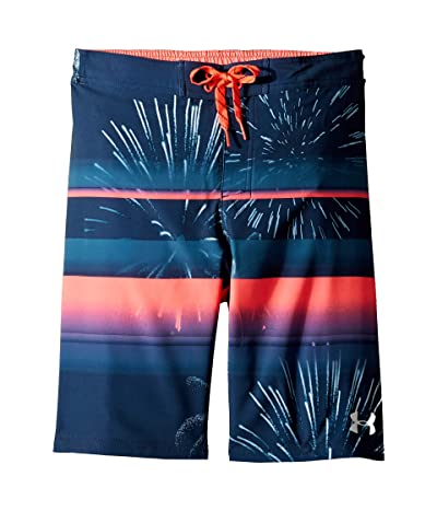 Under Armour Kids Dynomite 1/2 Back Elastic Boardshorts (Big Kids) (Academy) Boy