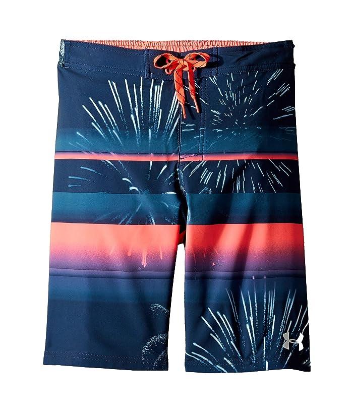 Quiksilver Boys Big Everyday Fireworks Youth 18 Boardshort Swim Trunk
