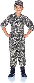 Underwraps Children's Army Camo Set Costume - Camouflage, Extra Large (14-16)
