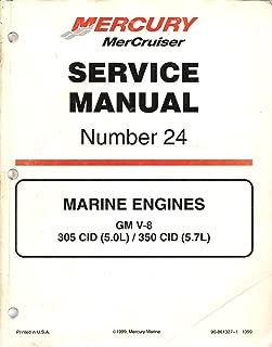 MerCruiser: Service Manual, No. 24 (Marine Engines GM V-8)