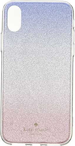 Kate Spade New York Sunset Glitter Ombre Phone Case for iPhone X