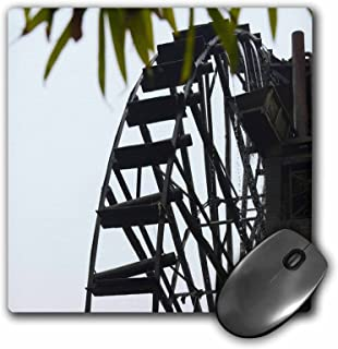 3dRose 8 x 8 x 0.25 Inches Mouse Pad, Waterwheel for Agriculture Irrigation (mp_132459_1)