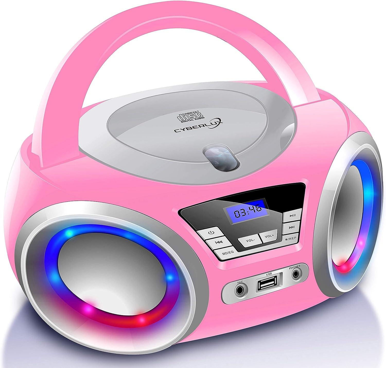 Portable Cd Player Boombox Cd Cd R Usb Fm Radio Aux In Elektronik