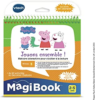 VTech Magibook-Peppa Pig, 480405 – versie FR