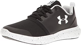 Under Armour Men's Infant Charged 24/7 Low Prism Sneaker, Black (001)/White, 5K
