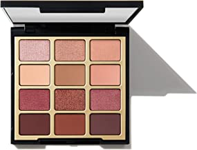 Milani Pure Passion Eyeshadow Palette (0.48 Ounce) 12 Cruelty- Warm Matte & Metallic Eyeshadow Colors for Long-Lasting Wear