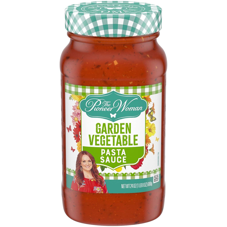 Pioneer Woman Garden Vegetable Pasta Sauce (24 fl oz Jar)