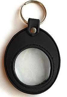 medallion holder keychain