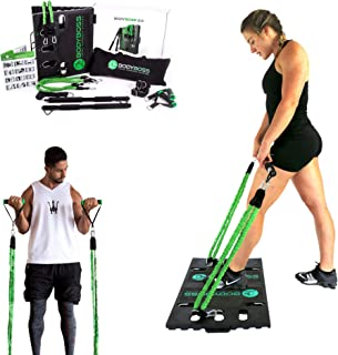 BodyBoss 2.0 – Full Portable Home Gym Workout Package + Resistance Bands –..