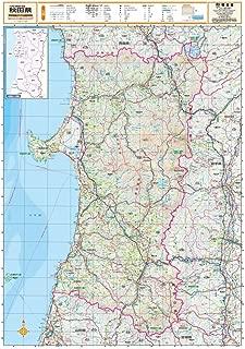 スクリーンマップ 分県地図 秋田県 (ポスター地図   マップル)