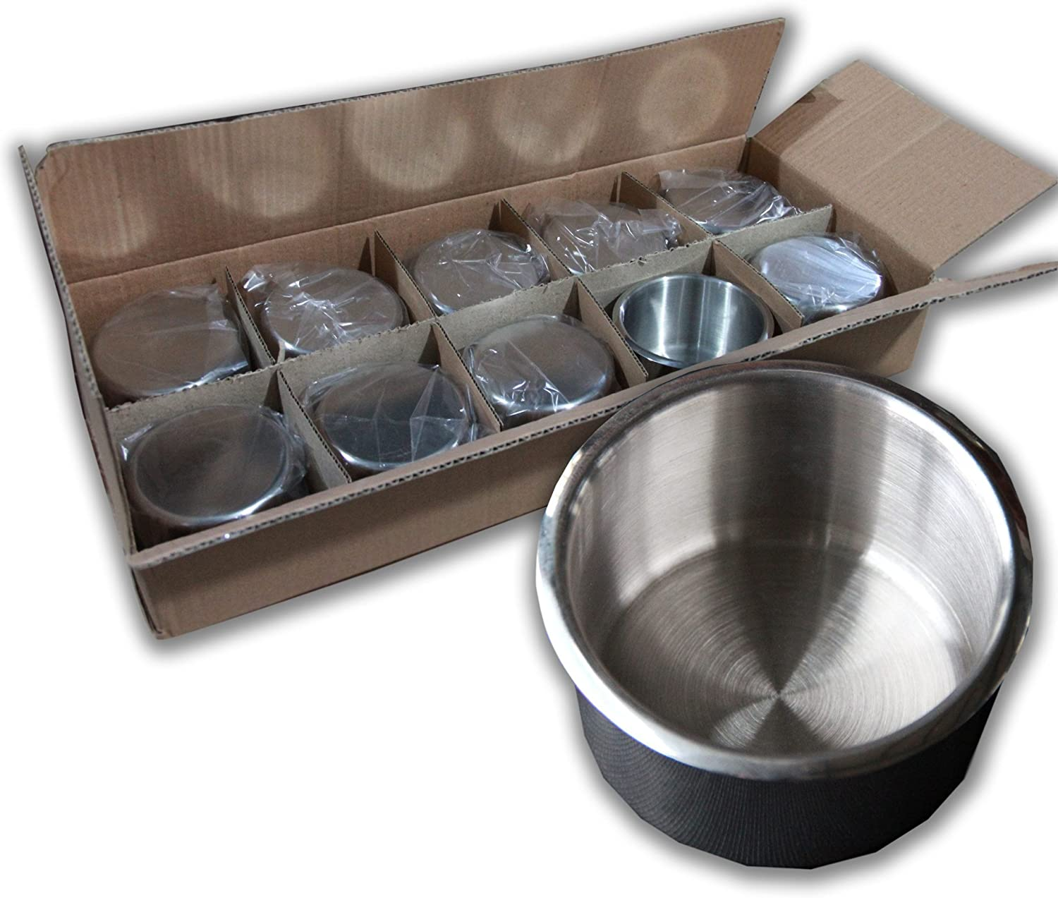 IDS 10PCS Stainless Steel Poker Max 56% OFF Size Holder Cup Table Max 85% OFF Regular