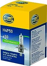 HELLA H4P50 +50 Performance Bulb, 12V, 60/55W