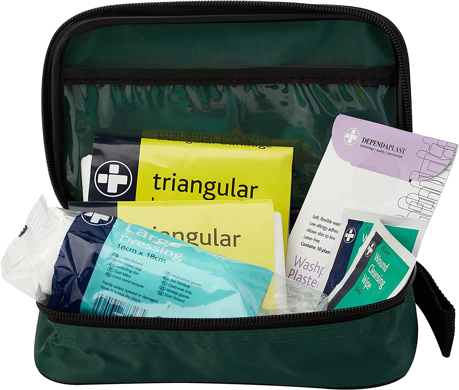 Reliance REL194 Essentials HSE 1 Person First Aid Kit, Riga Bum Bag: Health & Personal Care