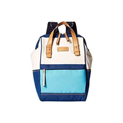 Nautica To Pool For School (Natural/Navy/Bali Bliss) Backpack Bags