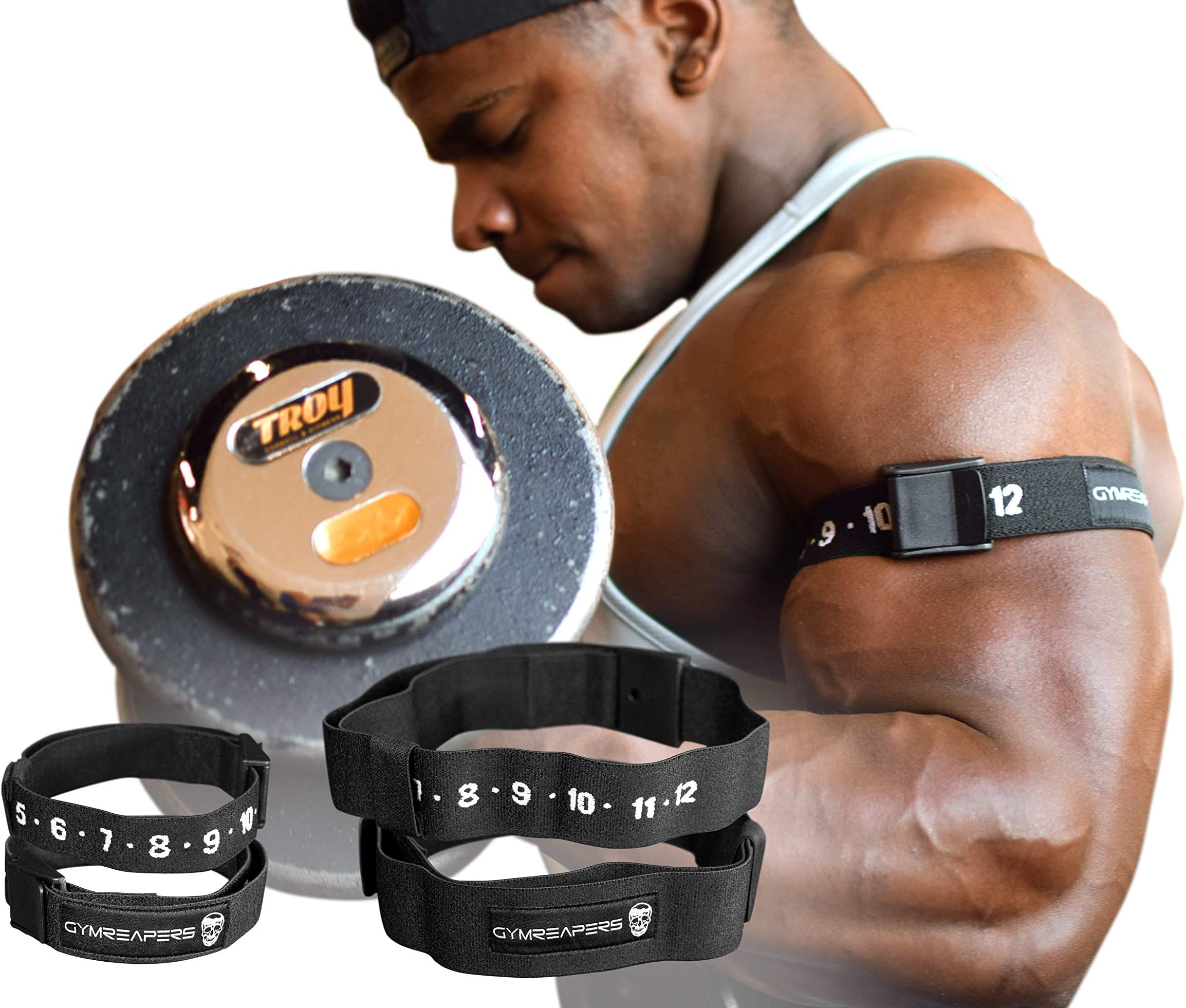 2 or 4 Pack Arms /& Legs Wraps Blood Flow Restriction Bands Occlusion Trainer