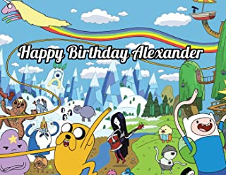 adventure time birthday cake toppers