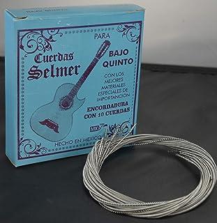 Cuerdas Selmer Bajo Quinto Strings (Black)
