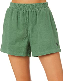 Stussy Women's Stock Cord Short Cotton Green