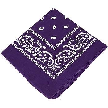 Bandana Paisley 100/% Cotton Head Neck Scarf Stylish Face Cover UK SELLER