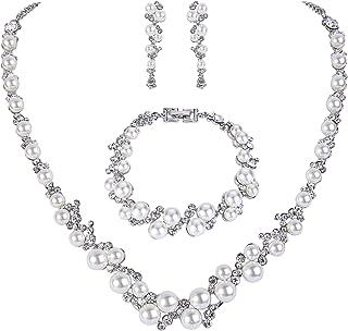 silver diamante jewellery
