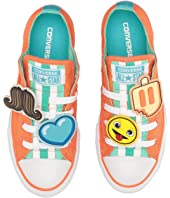 Converse Kids - Chuck Taylor All Star Loopholes Emoji Ox (Little Kid/Big Kid)